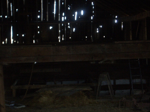 Inside An Old Barn 3 Image 500x375 Pixels