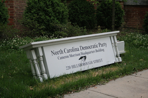 North Carolina Democrat Party headquarters.