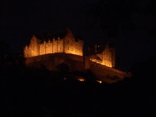 Edinburgh Castle At Night 2